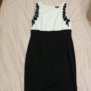 NWOT || B&W Dress